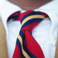 Виды галстуков: <strong>плетение</strong> ткань