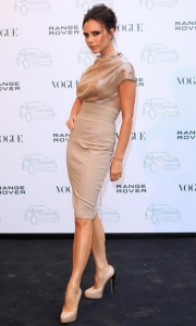 2010 Victoria at Range Rover 40th anniversary party