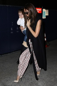 Victoria and kids at LAX