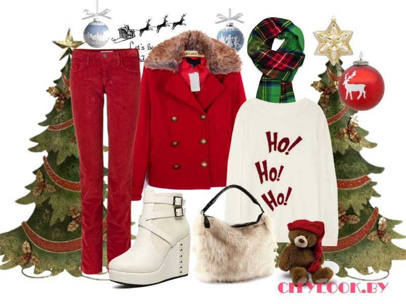 Одежда для нового года для девушек