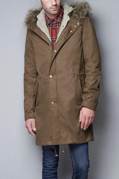 Куртки Зимние Мужские Купить Зара