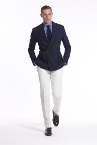двубортный пиджак Polo Ralph Lauren