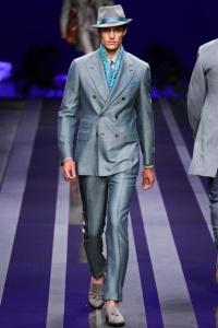 двубортный пиджак Canali