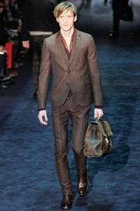 однобортный пиджак Gucci
