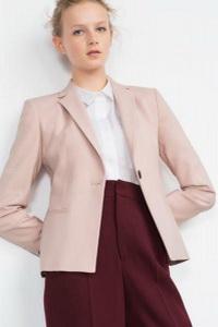 однобортный пиджак Zara