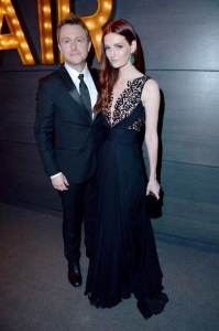 Chris Hadwick and Lydia Hearst