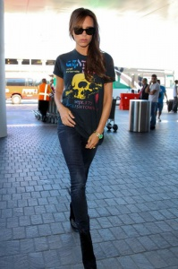 August - at LAX Airport