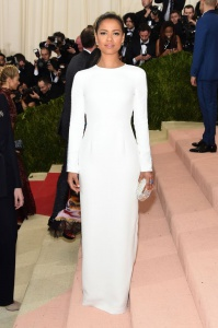 Gugu Mbatha Raw in Gabriela Hearst