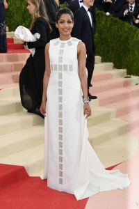 Freida Pinto in Tory Burch
