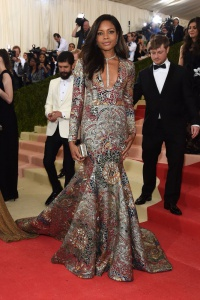 Naomie Harris in Burberry