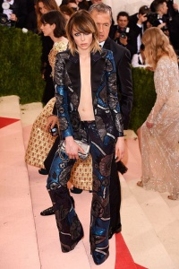 Edie Campbell in Burberry