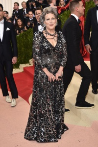 Bette Midler in Marc Jacobs