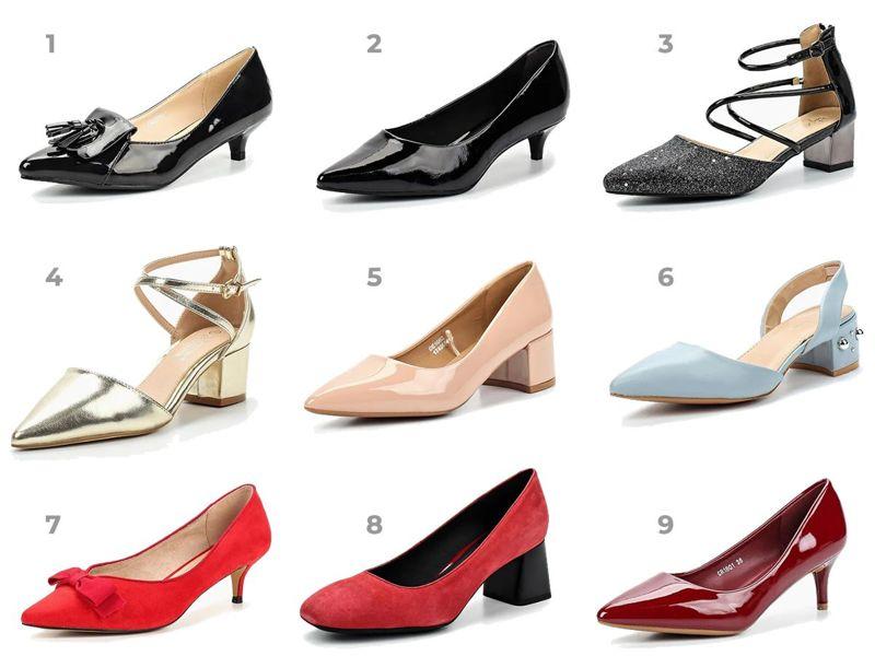 0cc160b35 И несколько альтернативных вариантов на небольшом каблуке. И киттен хилл, и  широкий каблук сейчас в моде, а ходить на них так же удобно, как и в обуви  без ...
