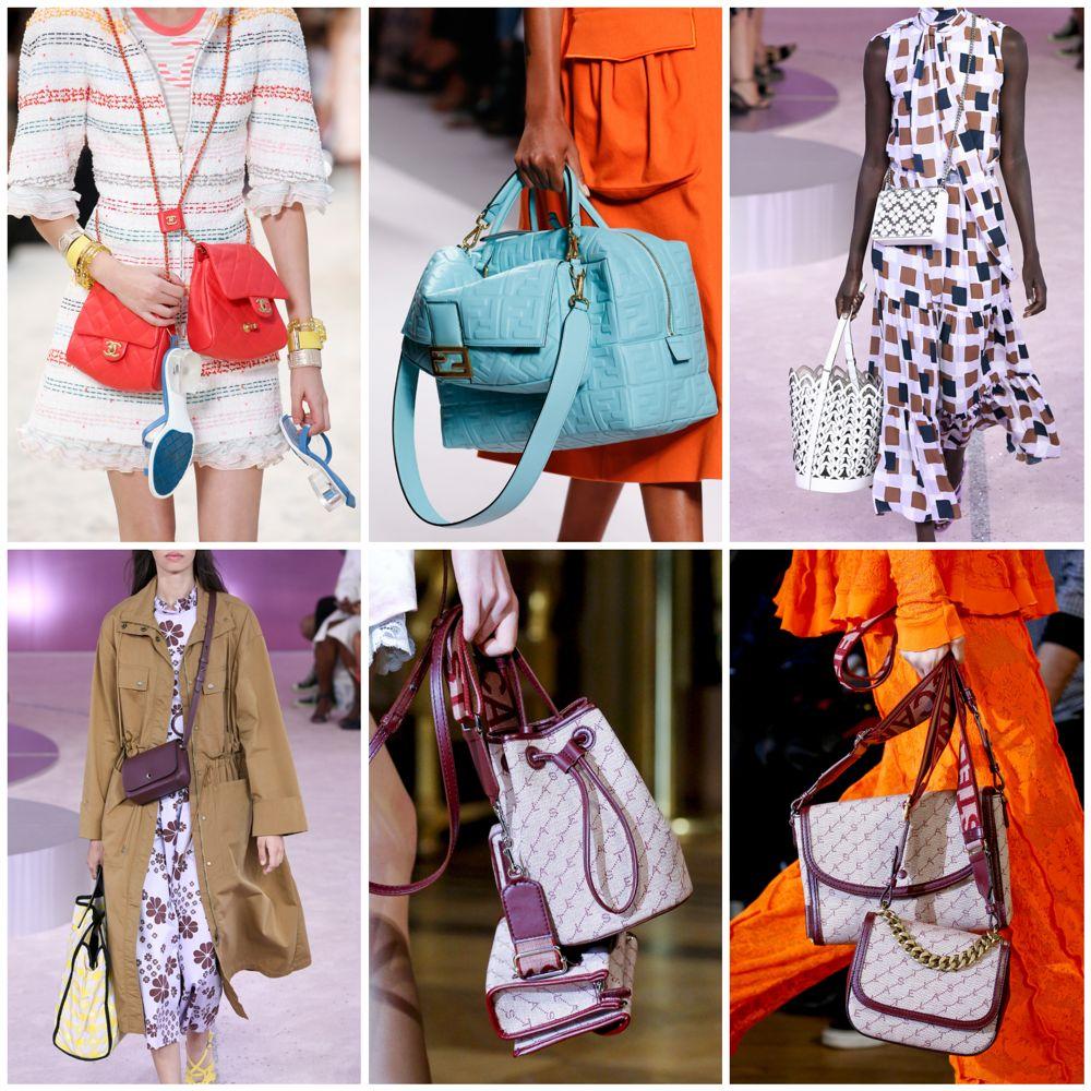 8a5050072c25 Актуальная форма сумок – весна 2019. Седло и багет. Еще пару лет назад в  моде были сумки ...