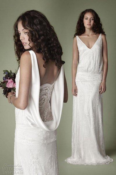 Свадебные платья в стиле 20