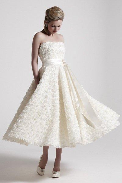 Платья в стиле 50