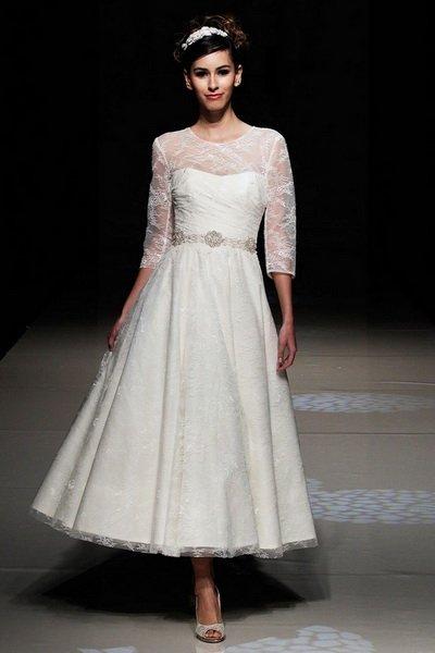 свадебное платье в ретро стиле 60-х
